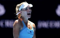 Angelique Kerber tropeça mas segue em frente no Open da Austrália