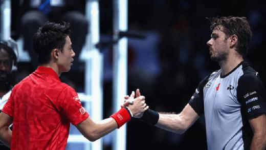 Nishikori vs. Wawrinka: o primeiro grande jogo de sábado é já esta ao início da madrugada… no Eurosport