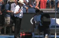 O primeiro encontro do Australian Open terminou após… 25 minutos