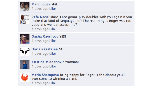 Federer pediu para Roland Garros lhe enviar 36 tubos de bolas