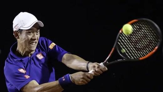 Kei Nishikori encara 'qualifier' no 'challenger' de Newport Beach após cinco meses de ausência