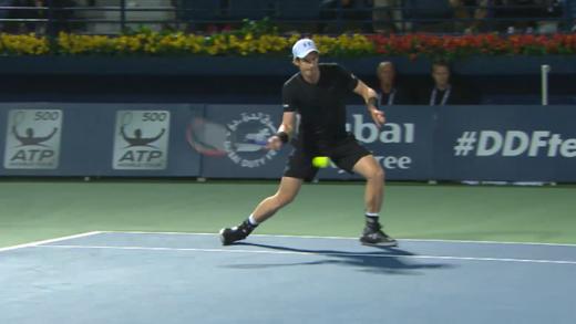 [Vídeo] Murray salva match point com amortie, mas afirma: «Foi a pior decisão que tomei em todo o encontro»
