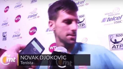 [Vídeo] Terá sido esta a mais curta conversa com os jornalistas da carreira de Djokovic?