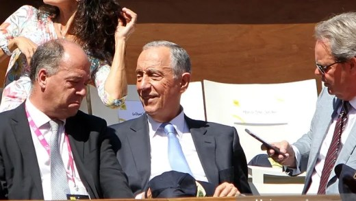 Zilhão assegura Presidente Marcelo no Millennium Estoril Open