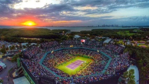 Federer-Del Potro, Wozniacki-Muguruza, Zverev-Isner: a ordem de jogos da SUPER segunda-feira em Miami