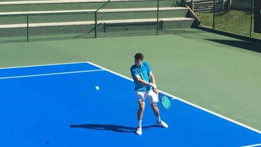 Nuno Deus é o primeiro português a passar à segunda ronda no Lisboa Racket Centre
