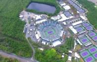 [VÍDEO] Lindo, lindo, lindo: a vista aérea do Crandon Park, o paraíso do torneio de Miami