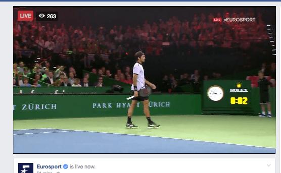 Siga a exibição de Federer e Murray em Zurique EM DIRETO