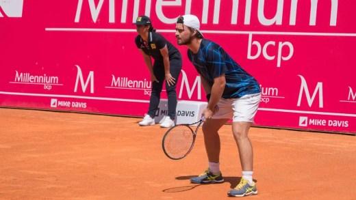 João Monteiro cede na ronda inaugural do Challenger de Alphen