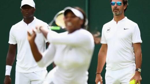 Patrick Mouratoglou não sabe se continua treinador de Serena Williams depois da gravidez
