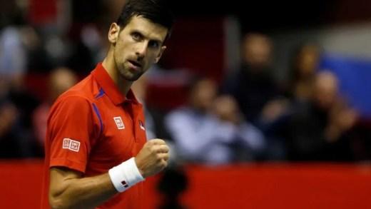 Djokovic garante que vai defrontar a França mesmo que ganhe o US Open