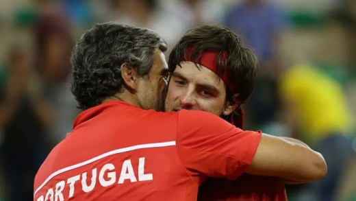 'Mágico' e fã de videojogos. Gastão Elias revela segredos dos companheiros da Taça Davis quando jogam… FIFA