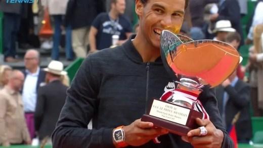 Rafael Nadal alcança em Monte Carlo um feito INÉDITO na história do ténis mundial
