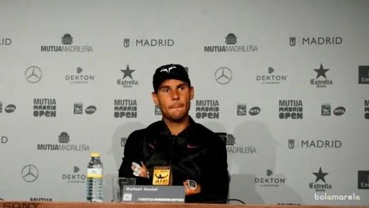 Nadal: «Os 'maus' resultados de Djokovic são o sonho de 99% dos jogadores»