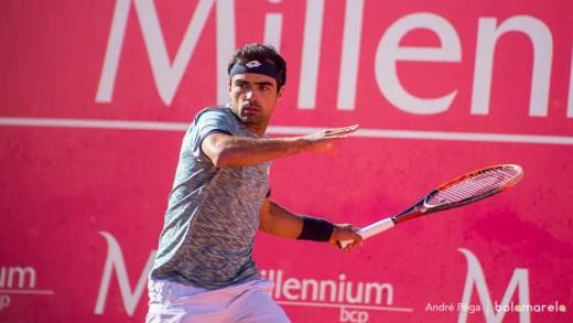 Lisboa Belém Open. Frederico Silva cai na segunda ronda do Challenger de Belém