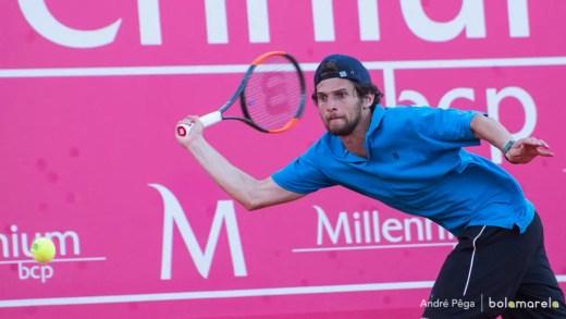 Pedro Sousa termina excelente semana nas meias-finais do Challenger de Aix en Provence