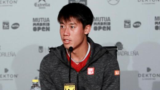 ÚLTIMA HORA. Kei Nishikori está FORA do Open da Austrália
