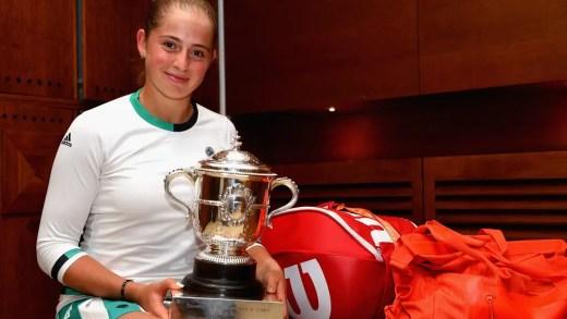 Jelena Ostapenko: «O meu objetivo é ganhar todos os Grand Slams»