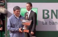 [VÍDEO] As pomposas celebrações de Roland Garros para LA DÉCIMA de Rafa Nadal