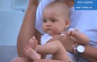 [Vídeo] Filho de Azarenka assiste à primeira vitória da mãe
