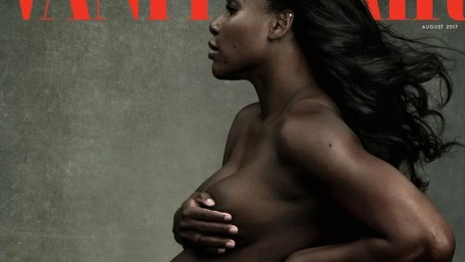 [Fotos] Grávida, Serena Williams despe-se (totalmente) para  Vanity Fair