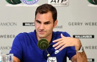 Campeão de Wimbledon vai sair do top 20, diz Federer