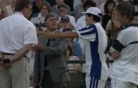 O dia em que Tim Henman se torna no primeiro jogador expulso em Wimbledon