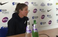 [Vídeo] Jornalista fez pergunta a Johanna Konta e ela… não gostou nada!