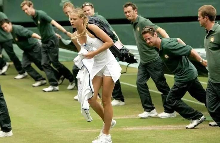 O efeito Sharapova: Qualificação de Wimbledon com transmissão na Europa pela primeira vez