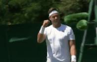 [Com vídeo] Cá está ele… OUTRA VEZ! Marcus Willis entra com o pé direito na qualificação de Wimbledon