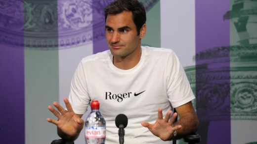 Roger Federer quebra recorde de… Serena Williams