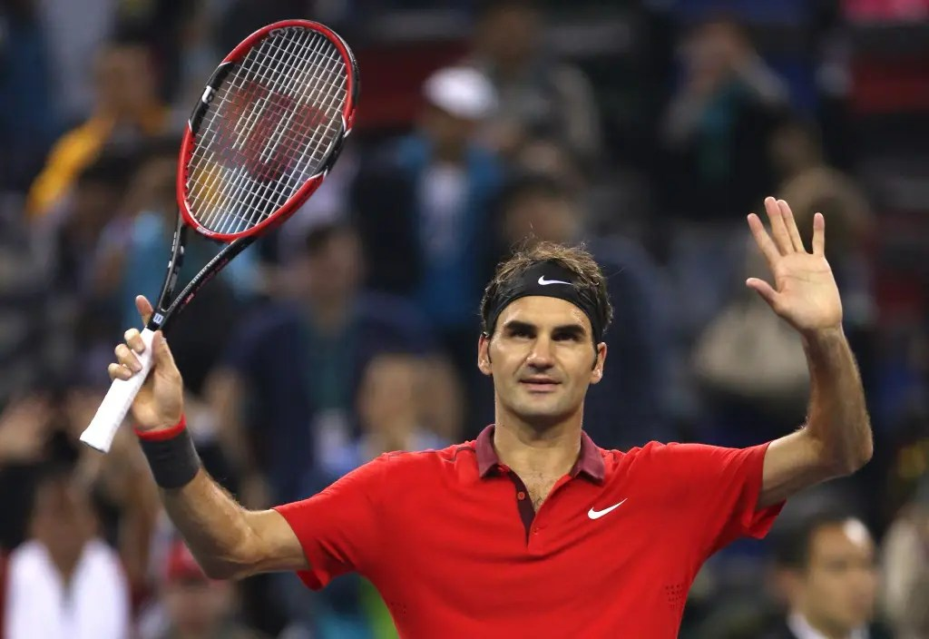 Roger Federer foi a um concerto na noite antes de se estrear em Montreal