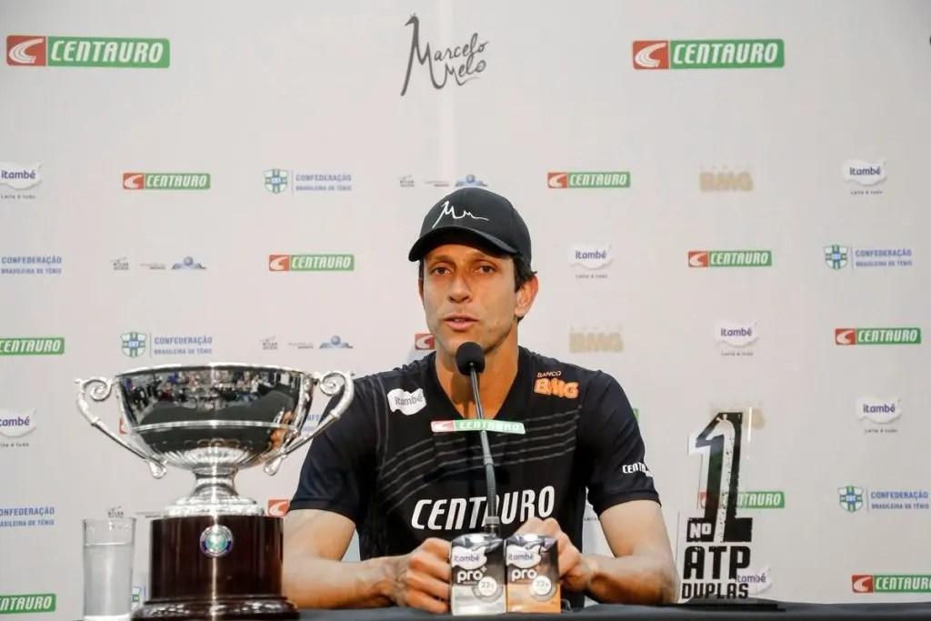 Marcelo Melo conta como foi ser vizinho de Federer em Wimbledon
