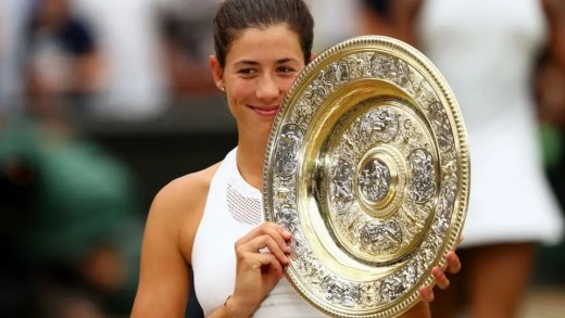 Mundo do ténis reage à glória de Muguruza em Wimbledon