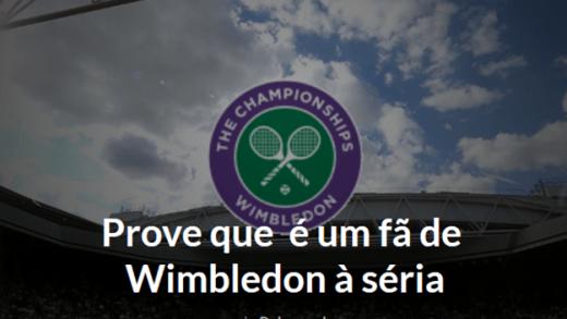 Quiz: É um fã de Wimbledon à séria?
