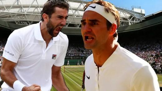 Federer vs. Cilic: todos os números dos dois jogadores no torneio