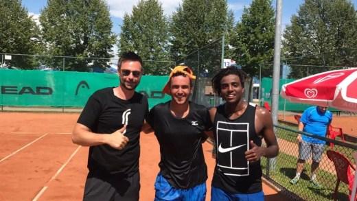 Treino de luxo. Gonçalo Oliveira junta-se a Elias Ymer e ao seu treinador… Robin Soderling