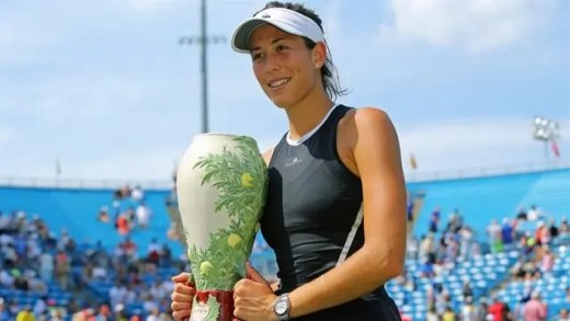 Muguruza sobre a liderança na WTA Race: «Nunca pensei nisso. Quero é ganhar torneios»