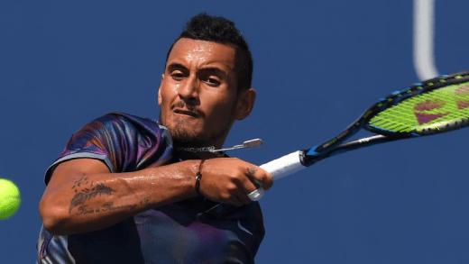 DESILUSÃO. Nick Kyrgios é eliminado na primeira ronda do US Open
