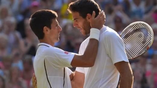 Del Potro aconselha Djokovic: «Aproveita o tempo com os teus filhos e voltarás suficientemente forte»
