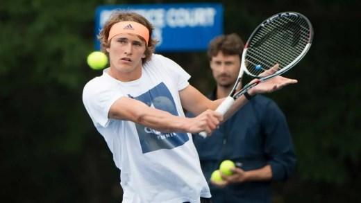 Ferrero chocado com disciplina de Alexander Zverev
