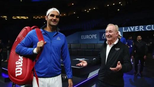 Rod Laver: «O Federer tem 36 anos e joga como se tivesse 21»