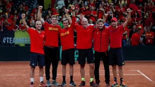 Bélgica elimina Austrália e junta-se à França na final da Taça Davis