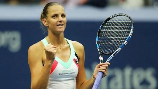 Pliskova salva match-point, no dia do adeus de Ostapenko e Radwanska