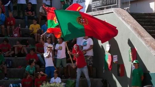 A 'Ultra Davis' em peso no encontro de pares entre Portugal e Alemanha