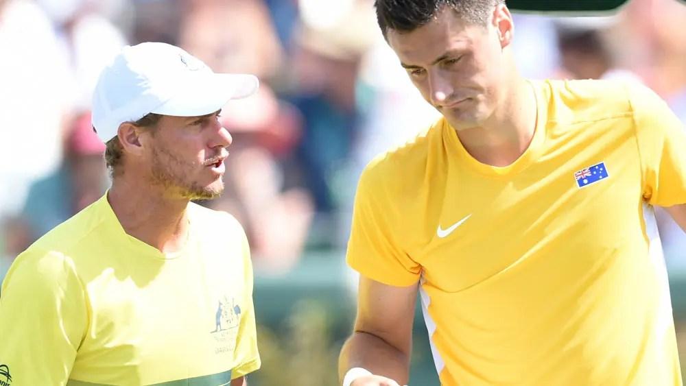 Será que Bernard Tomic merece um wild card para o Australian Open? Hewitt duvida