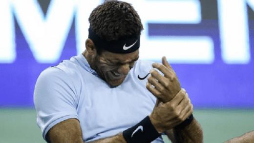 Del Potro: «Tenho muitas dores. Joguei porque é sempre uma honra defrontar Federer»