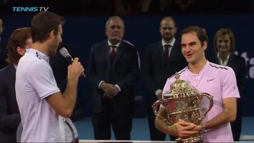 Del Potro para Federer: «Adoraria estar na mesma forma que tu quando chegar à tua idade»