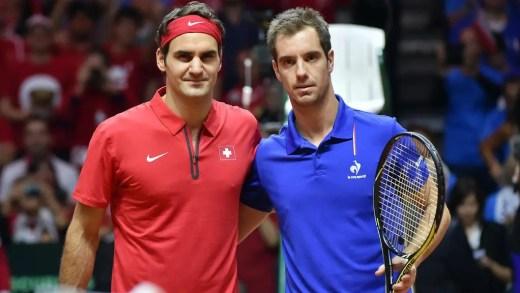 Federer criticou a imprensa francesa e Gasquet… respondeu-lhe