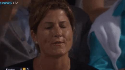 Kyrgios: «Mais difícil em defrontar Federer? É ter a Mirka a assobiar-me!»